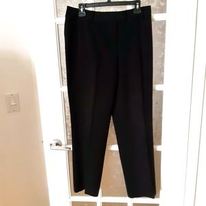 Nygard collection black trousers dress pants sz 8